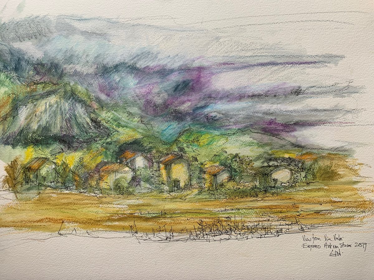 Autumn Storm over Monselice