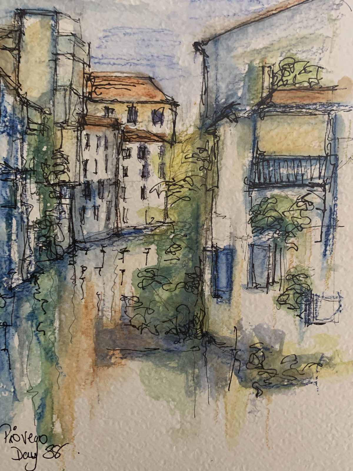 Padova canal view