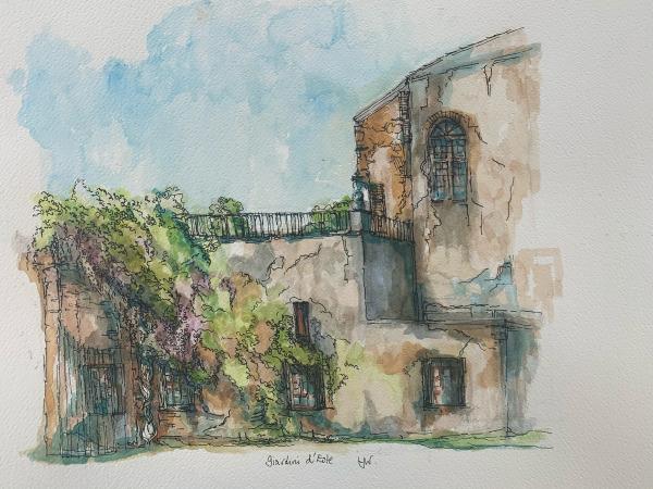 Castle gateway Este